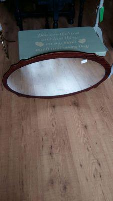 Mahogany Mirror 25 Euro