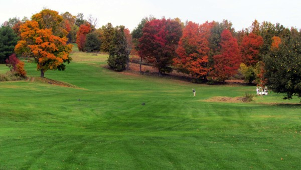 Milestone Golf Club Vermont and New York State Autumn Colors