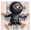 Jumping Happy Ninja