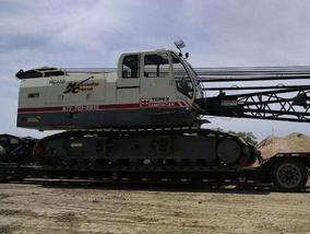 Terex HC110 110T Lattice Boom Crawler Crane