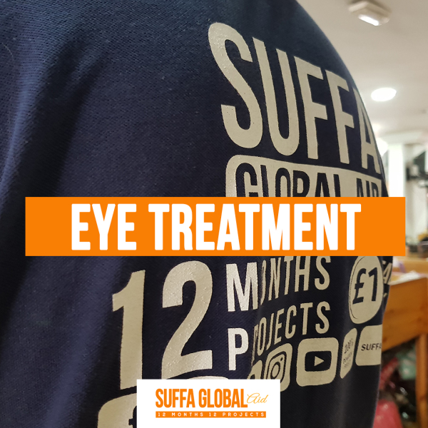 Eye Treatment for Suraya- April Project
