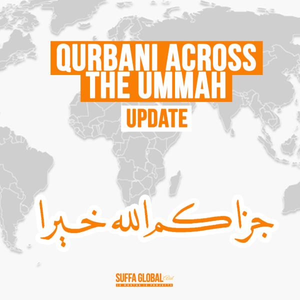 August Qurbani Across The Ummah Update