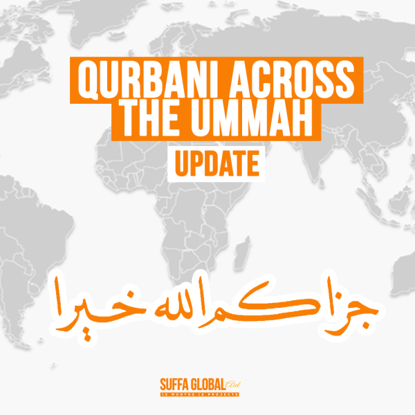 August Qurbani Across The Ummah Update