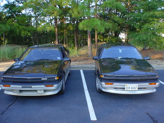 Back when my buddy Henge and I had matching Black/Silver SE's