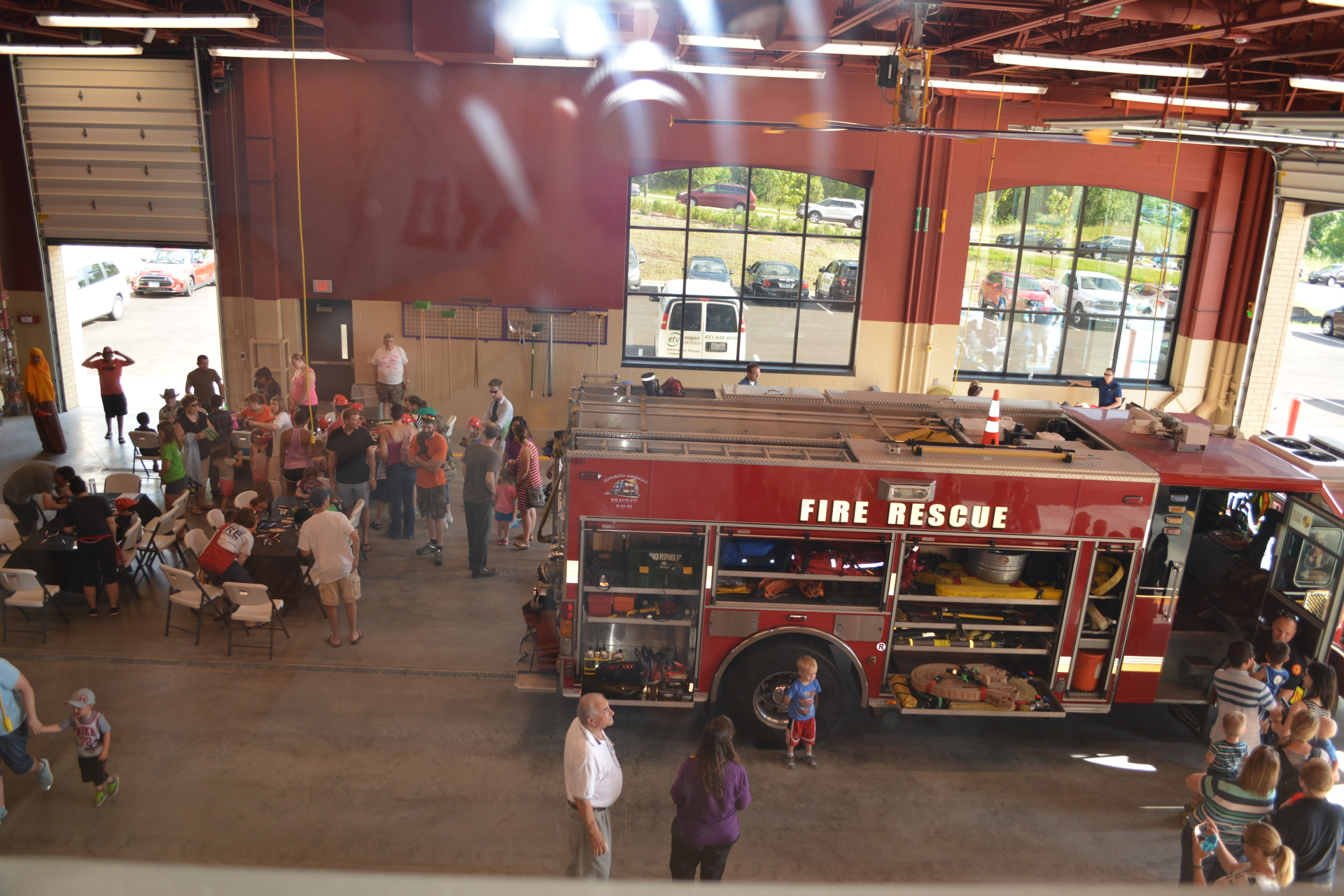 City Unveils New Fire Station