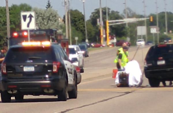 Cliff Road Crash Causes Traffic Jam