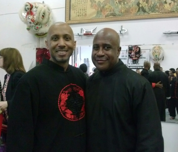 My Sifu Derek Johnson and I