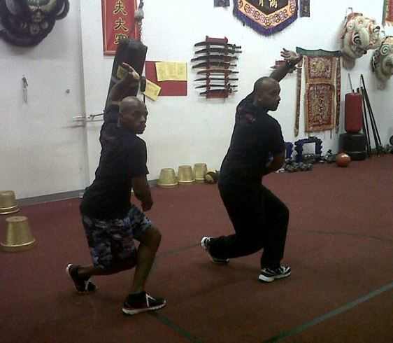 Training with SiDai Darrell Gough