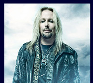 Vince Neil Takes The Stage At Resorts Casino Hotel