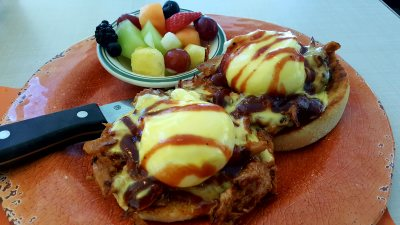 Experience Indulgence: Blu' Island Bistro Venice Florida The Best Pulled Pork Eggs Benedict