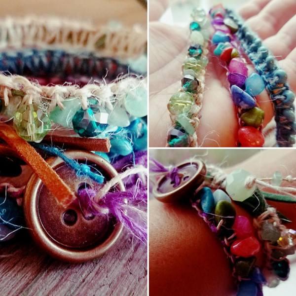 #knottedbracelet #handmadebracelet #lovejamiegirl #creativeklepto