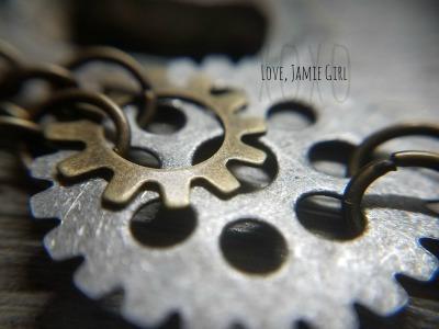 steampunk, steampunkearrings, handmadesteampunkearrings, gearearrings