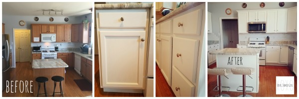 How I transformed this Kitchen with Chalk Paint
