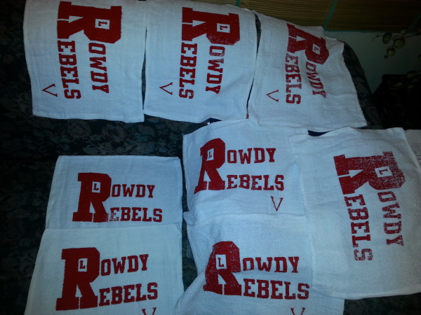 Team Rally Towels