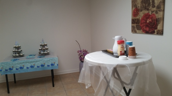 Party set-up