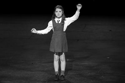 Alannah singing Quiet from Matilda the Musical