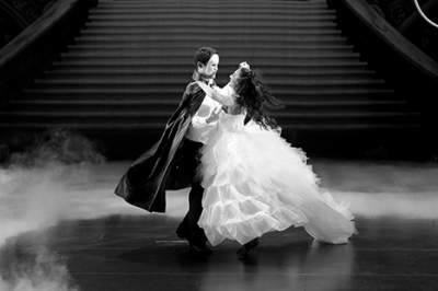Dancer in Michael Jackson tap routine