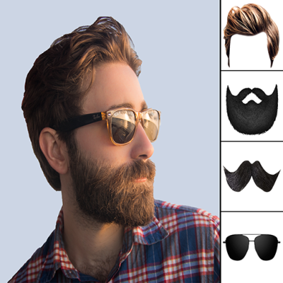 Man Hair changer is amazing hair style app with allow you to change hair style, mustache style and beard style. This hairstyle app will help you to give a cool look. Add different types of hair, beard and mustaches style to your Pictures, you can find a proper hair style which suits to your face.
