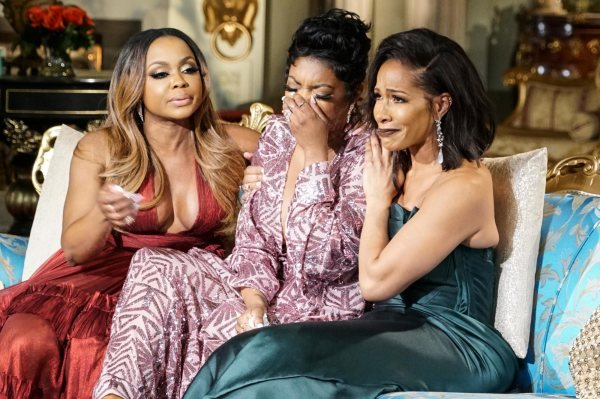 Real Housewives of Atlanta Reunion causes Phaedra to get the boot??