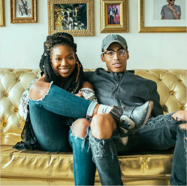 Brandy is dating Sir the Baptist