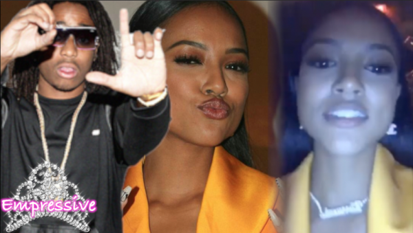 Migos' Quavo surprises Karrueche Tran on her 29th birthday