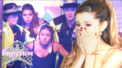 Ariana Grande hysterical after bombing at her concert