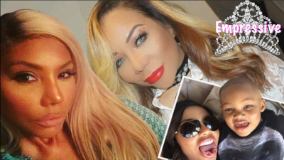 Tamar Braxton claps back at fan and calls out Tiny! Uh oh