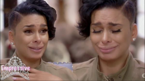 "Laura Govan breaks down on Iyanla Vanzant ""Fix My Life"" 