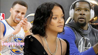 """Steph Curry tells Kevin Durant: """"Rihanna is a trap!"""""""