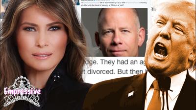 Melania Trump is allegedly having an affair??