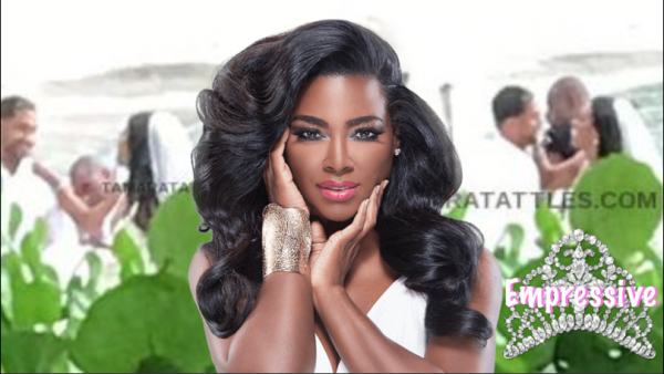Real Housewives of Atlanta star, Kenya Moore secretly got married?