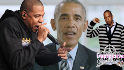 Former President Obama inducts Jay-Z into the Songwriter Hall of Fame and Jay thanks the rap legends
