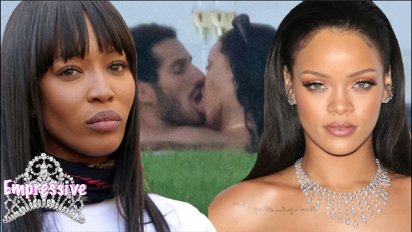 Rihanna allegedly stole Naomi Campbell's man?? | Leaked pictures of Rihanna kissing mystery man