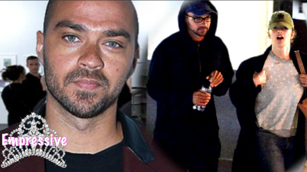 Jesse Williams steps out with new girlfriend Minka Kelly and bashes his haters