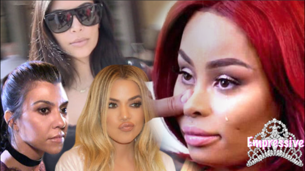 The Kardashians are trying to end Blac Chyna! (She's going to jail?)