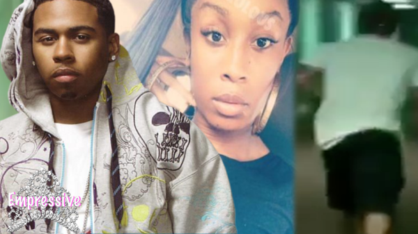 Bobby Valentino runs out of a transgender prostitute's apartment (FOOTAGE Inside)