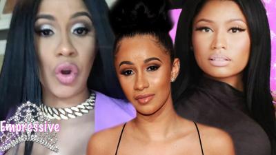 Cardi B. calls Nicki Minaj a legend   Who was Cardi B sneak dissing?