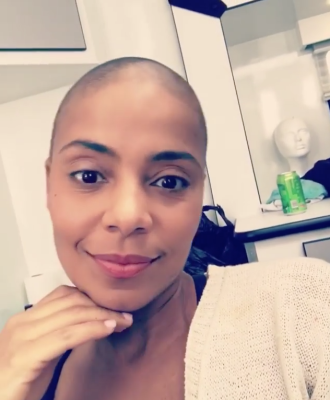 Sanaa Lathan shaves her head bald. Hot or Not? (Natural hair talk)