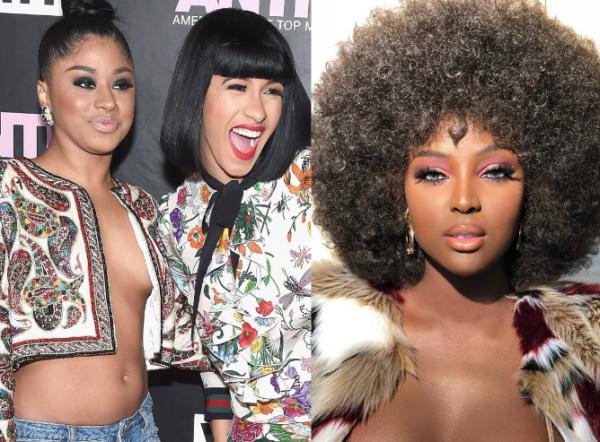 Cardi B's sister, Hennessy Carolina, criticizes Amara La Negra statements on colorism