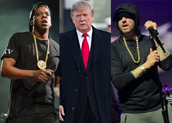 Donald Trump Responds To Jay-Z, but Why not Eminem?