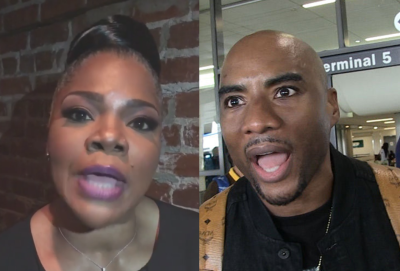 Mo'nique and Charlemagne Tha God Spar On 'The Breakfast Club'
