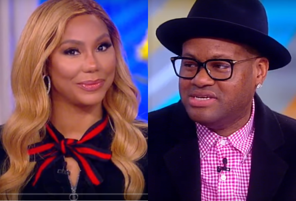 Tamar Braxton Talks Marriage with Vince, and 'The Real' on 'The View'