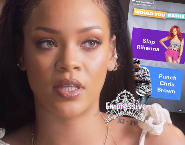 Rihanna Claps Back at Stupid Snapchat Ad | SnapChat stocks plummet OOPS!