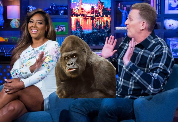 Michael Rapaport Calls Kenya Moore an Ape!