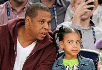 "Blue Ivy Tells Jay-Z ""You Hurt My Feelings"""