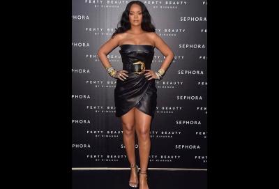 Rihanna Flaunts Newly Slimmed Figure
