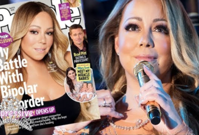 Mariah Carey Reveals Her Battle With Bipolar Disorder