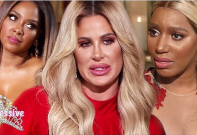 Kim Zolciak Storms Out Of The RHOA Reunion