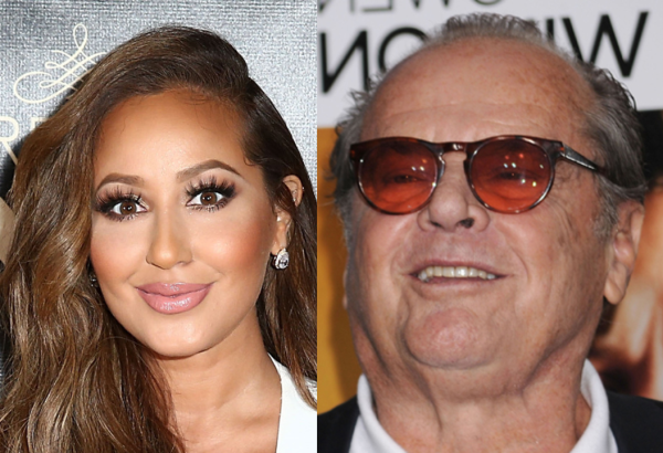 Adrienne Bailon Admits Having a Crush on Jack Nicholson