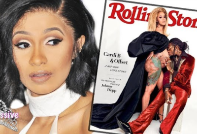 Cardi B Upset With New Rolling Stone Cover!